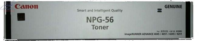 Mực photocopy Canon NPG-56