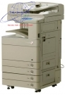 Máy photocopy màu Canon iR ADV-C5051 - Máy photo cho thuê
